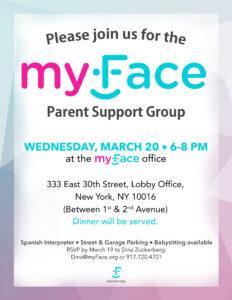 Parent Support Group flyer