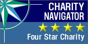 charity navigator four star logo