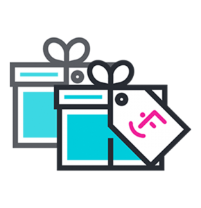 Employee matching gift icon