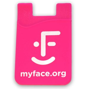 myFace pink phone sleeve case