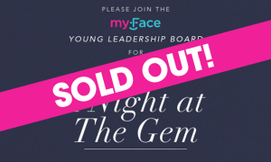 A Night at The Gem sold out banner