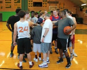 myFace National Mentoring Month Stamford Peace Spirit Award Blog Basketball Team