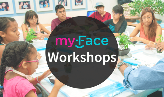 myFace Workshop event page feature image