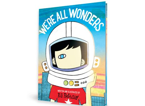 R.J. Palacio WE'RE ALL WONDER