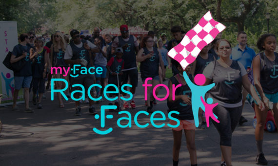 Races for Faces 2017 banner