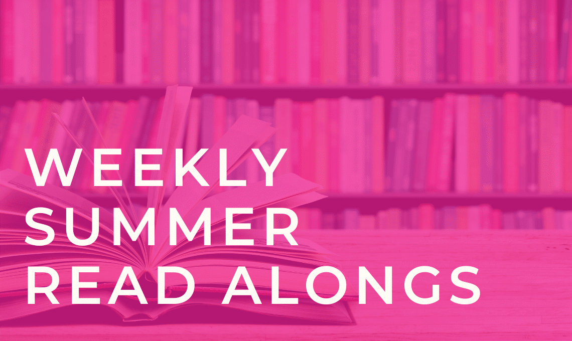 Header Image: Weekly Summer Read Alongs